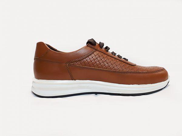 کفش اسپرت مردانه مدل 293بندی عسلی 1000200010