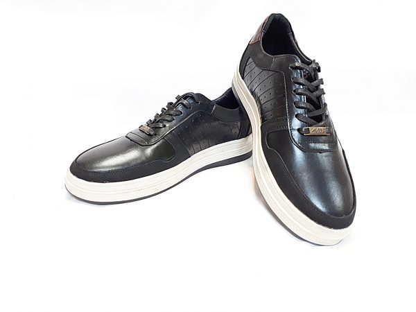 کفش مردانه اسپرت ونس 3 بندی مشکی 1000200001